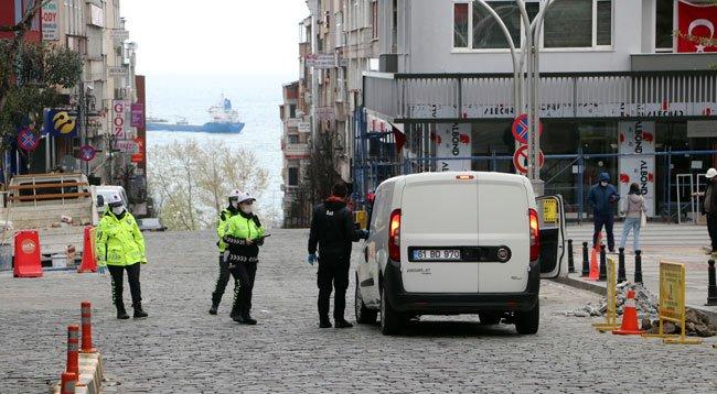 Trabzon'da Kısıtlamayı İhlal Eden 236 Kişiye Para Cezası
