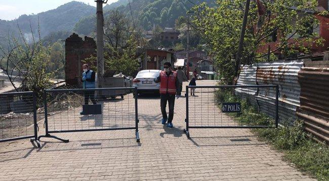 Zonguldak'ta 3 Ev Karantinaya Alındı