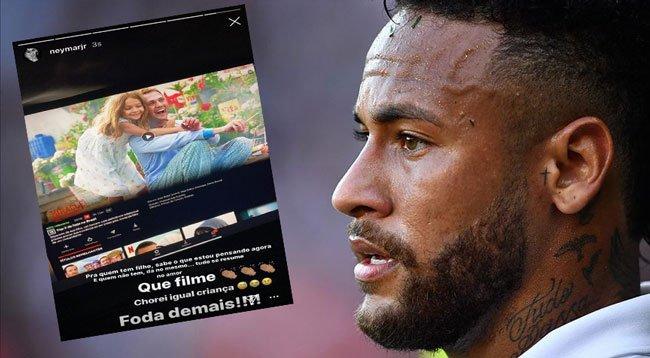 Neymar: Çocuk Gibi Ağladım