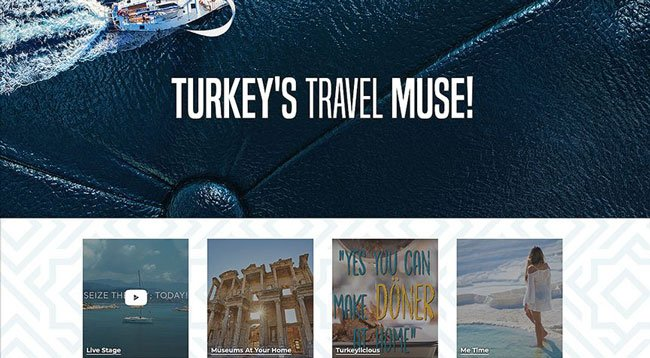 Türkiye'nin Çevrim İçi Tanıtım Sitesi Açıldı