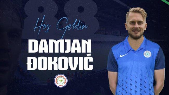 Damjan Dokovic Rizespor'da!..