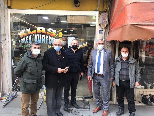 PAZAR'DA ESNAFA DENETİM UYGULANDI
